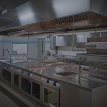 Планировка кухни ресторана: как правильно разместить оборудование на кухне #1112277263 Unit Group